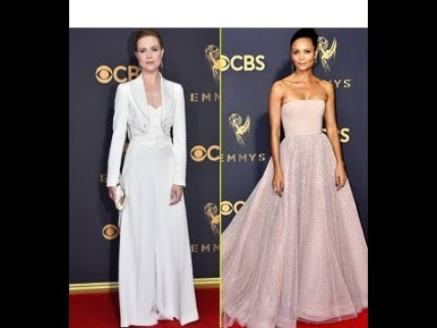 Evan Rachel Wood & Thandie Newton Go Glam for Emmys 2017