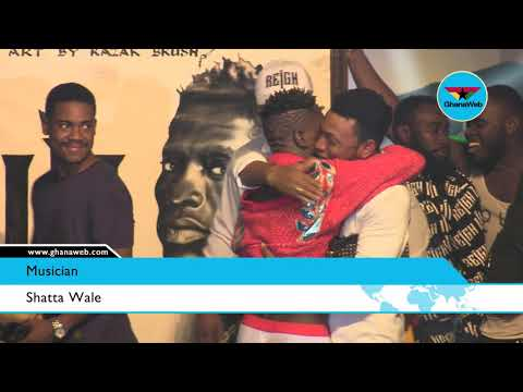 Shatta Wale performs 'My Level' at Reign Concert