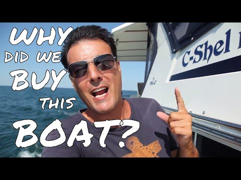 Why did we buy the Tollycraft 44 CPMY? Your Biggest Question