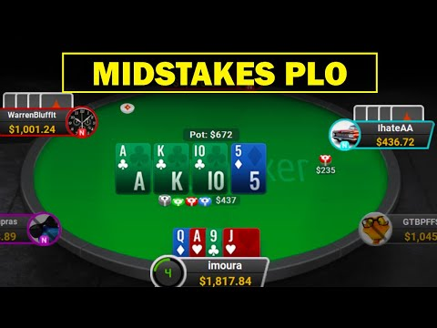 Midstakes Pot Limit Omaha Strategy and Tips