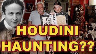 Spirits Surround Harry Houdini Death Certificate (DAFFODALE HOUSE)