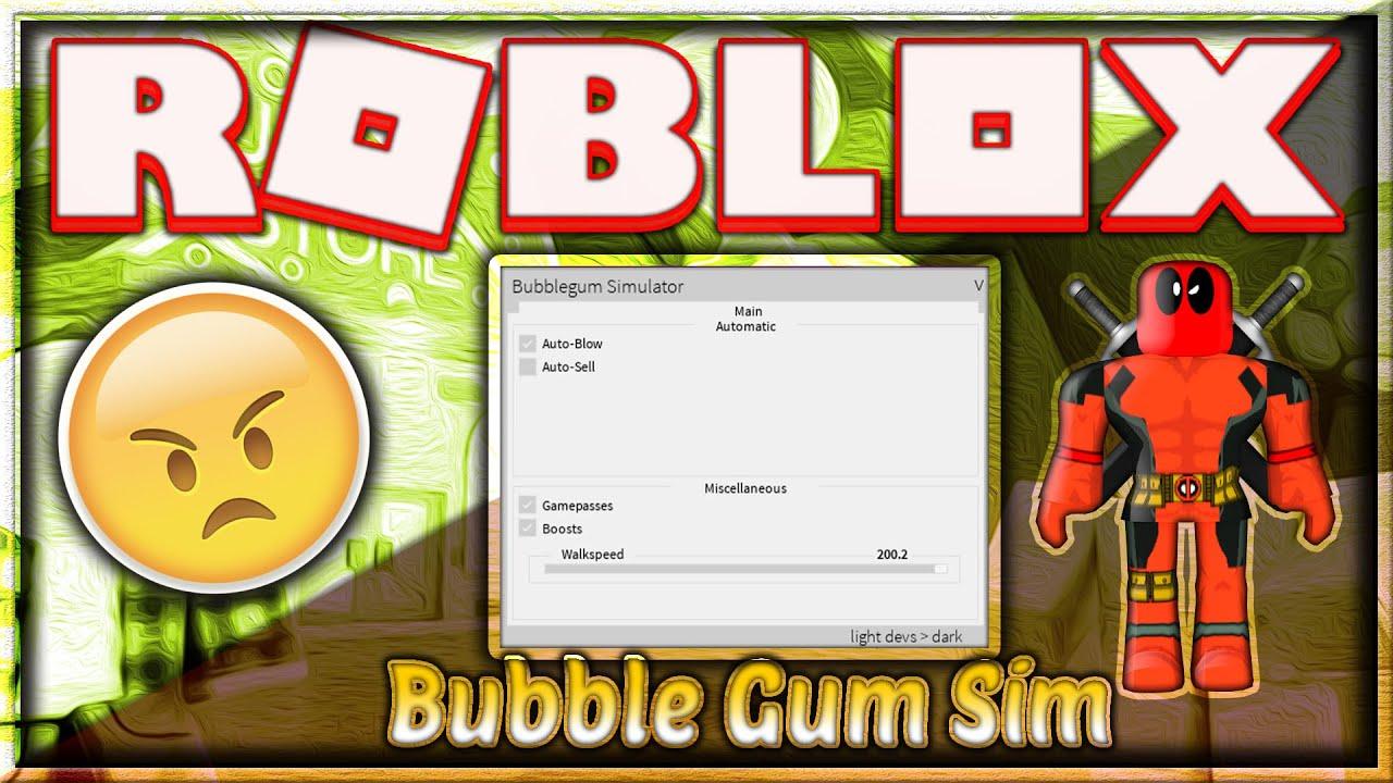 New Roblox Hack Script Bubble Gum Simulator Gamepasses