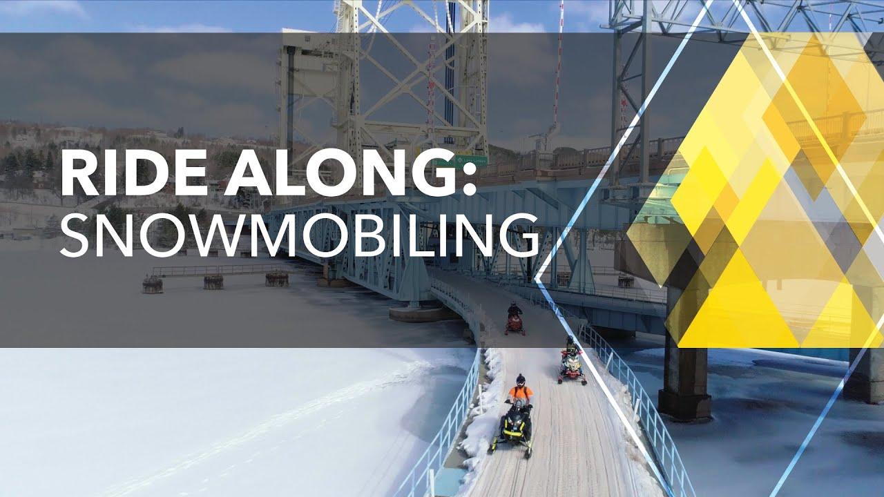 Ride Along: Snowmobiling