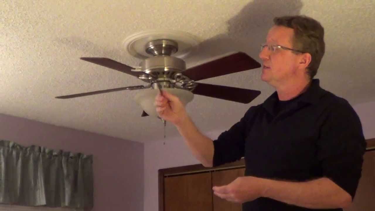Ceiling fan wobble youtube ceiling fan wobble mozeypictures Image collections