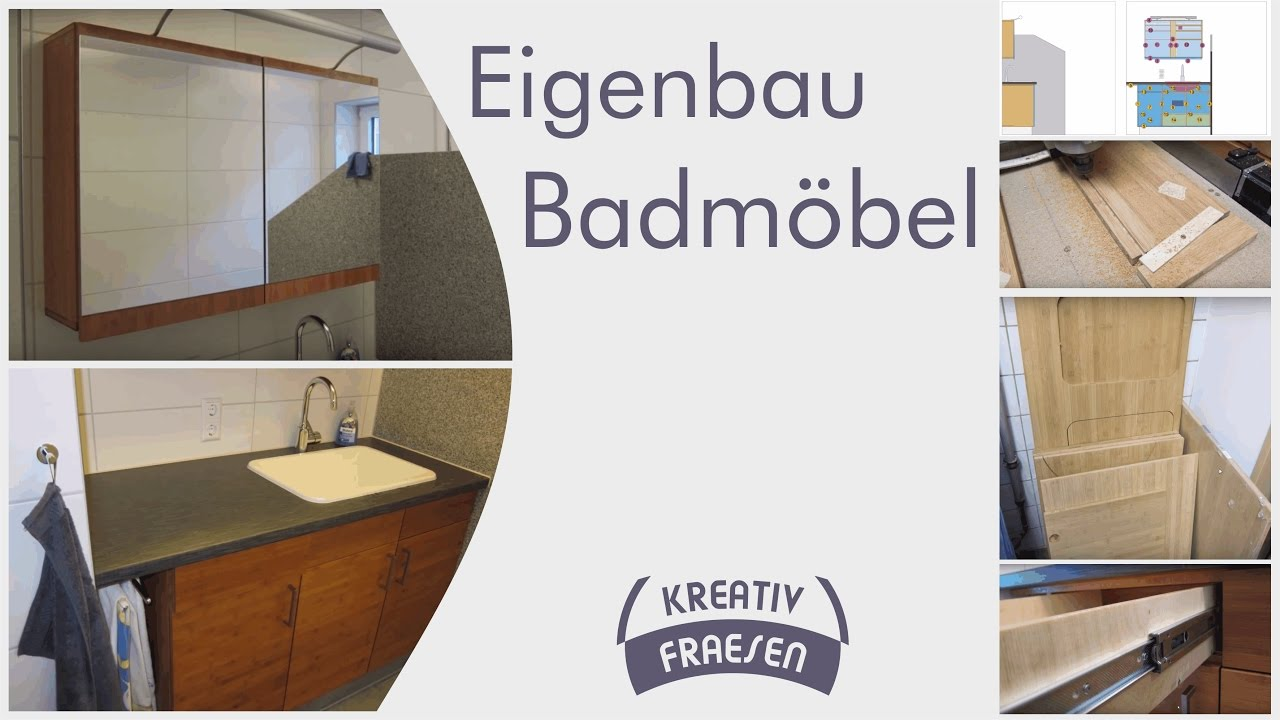 diy badm bel hergestellt mit einer cnc fr se youtube. Black Bedroom Furniture Sets. Home Design Ideas