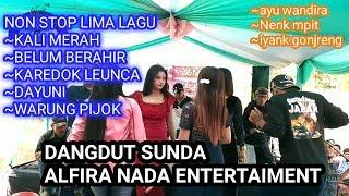 Download Dangdut sunda   Non stop lima lagu   karedok leunca ~warung pojok ~kali merah