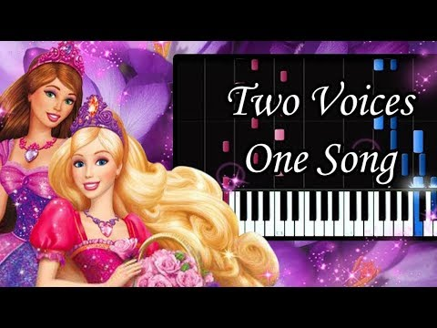 Two Voices One Song, Barbie and Diamond Castle -  Piano Synthesia