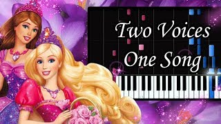 Two Voices One Song Barbie And Diamond Castle