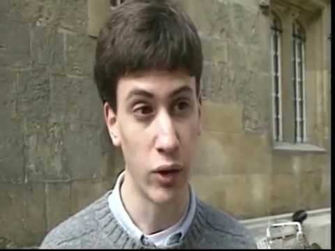 Ed Miliband - First public appearance on television - TV