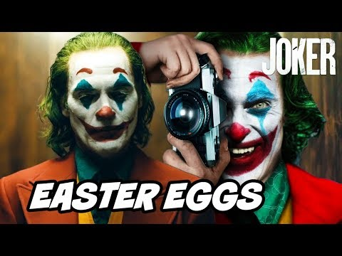 Joker Easter Eggs - Ending Scene and Batman References Breakdown
