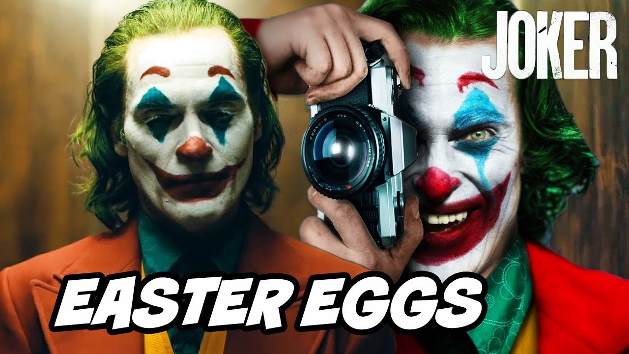 Joker Easter Eggs Ending Scene And Batman References Breakdown