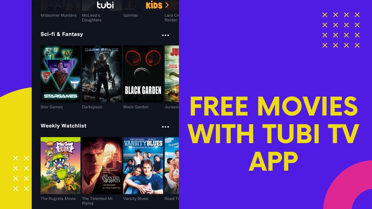 Tubi TV app review - Free legal alternative to Netflix - Watch TV Shows and  Movies for free!