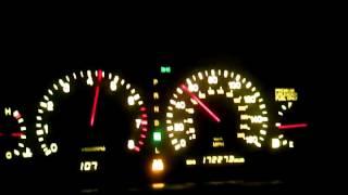 Lexus SC400 0 to 135