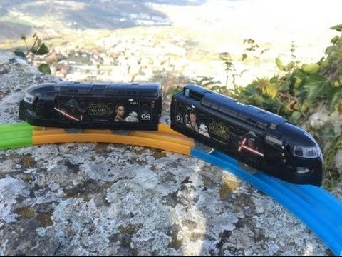 "Plarail express Rapit ""awakening of Star Wars/Force""train visit  San Marino (03716)"