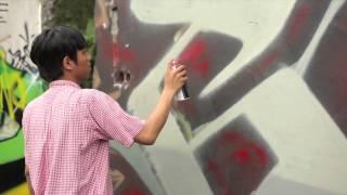 Glide & Sure Marlboro Graffiti Project by Cube x DnzTwo