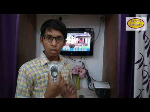 Videocon D2H RF Remote Pairing in 2 Minutes Simple Process