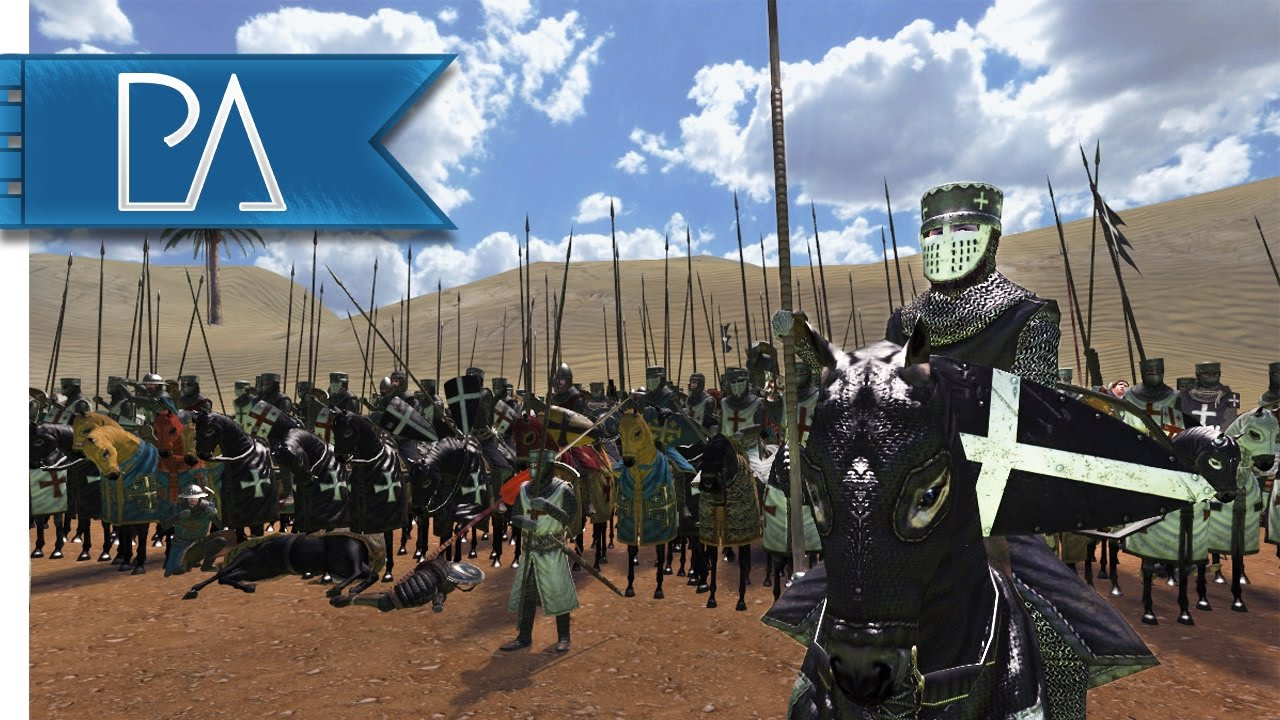 Kingdom of Heaven: Massive Cavalry Battle – Rise and Fall – Mount & Blade: Warband Mod Gameplay
