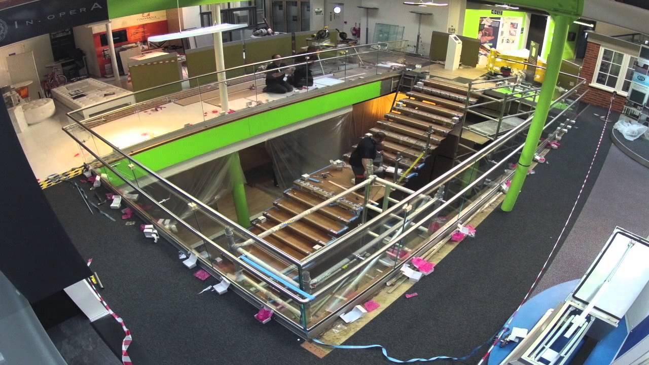 q railing building centre project youtube. Black Bedroom Furniture Sets. Home Design Ideas
