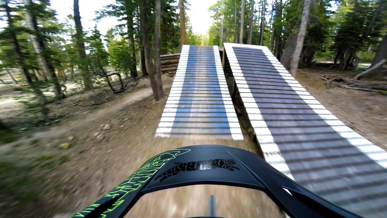 349b83418ea Mammoth Bike Park Opening Day 2016, Pipeline to Shotgun Trail - YouTube
