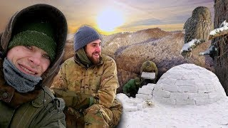 Intense Winter Survival & Bushcraft Trip! - Wilderness Expedition Trailer