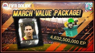 ~Ramos and Messi!!!~ March Value Package 2019 Opening - FIFA ONLINE 3