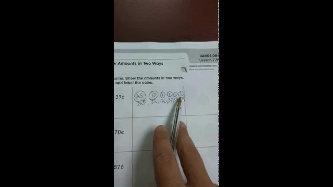 2nd Grade Go Math Lesson 7.4 - YouTube