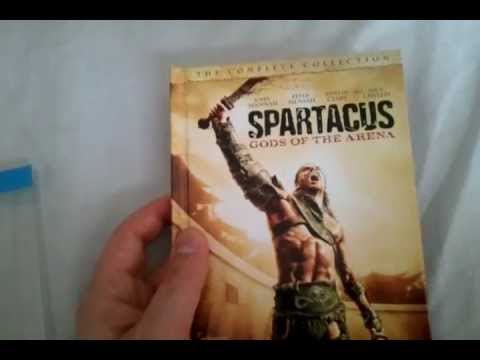 Spartacus: Gods of the Arena  The Complete Collection Blu Ray  and Unboxing