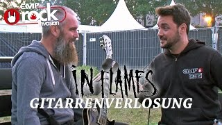 IN FLAMES - Gitarrenverlosung