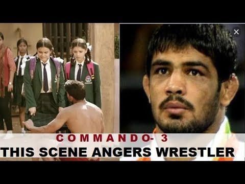Unhappy with Commando 3 action scene, wrestler Sushil Kumar demands its removal Mp3