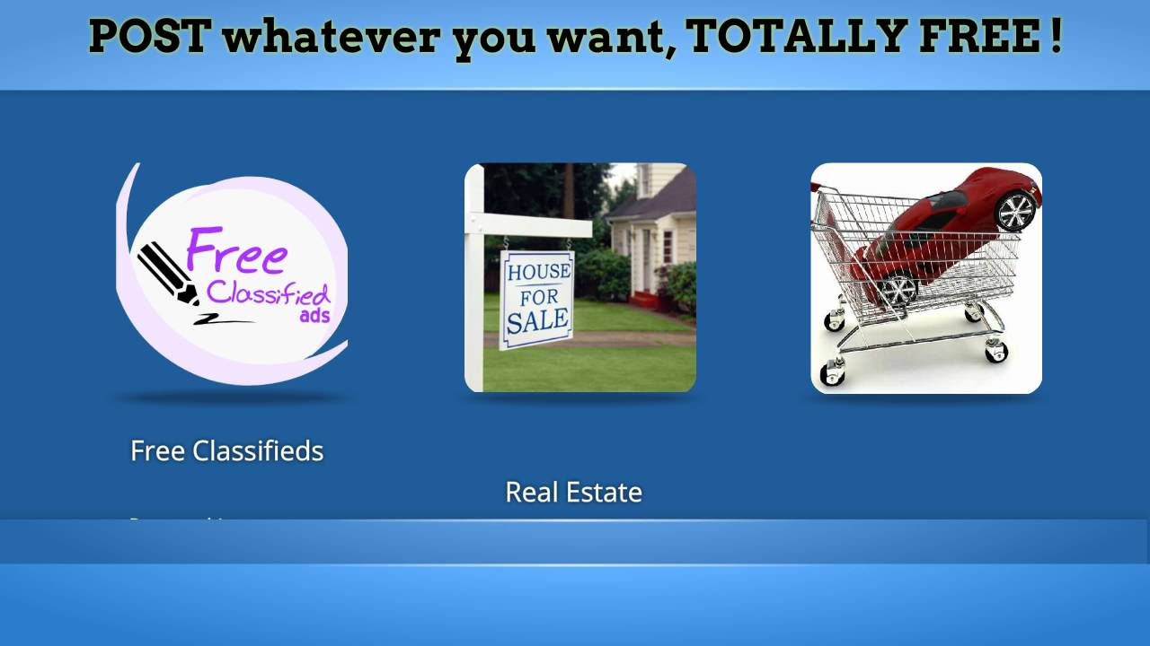 Sell your items, Sell your home free, Advertise your business Free ...