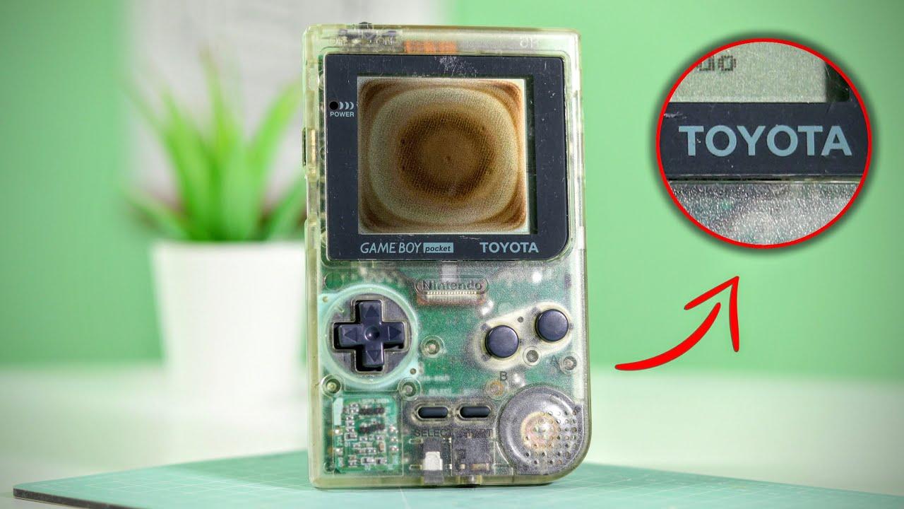 $1000 Toyota GameBoy Pocket FULL Restoration!