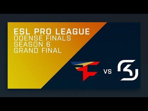 FULL: SK vs. FaZe - Grand Final - ESL Pro League Season 6 Finals