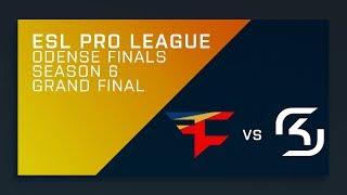FULL: SK vs. FaZe - Grand Final - ESL Pro League Season 6 Finals