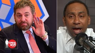 Stephen A. blasts James Dolan for threatening to ban Knicks fan | Stephen A. Smith Show