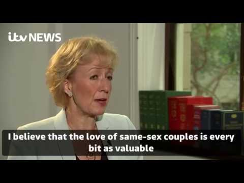 Andrea Leadsom on gay marriage legislation
