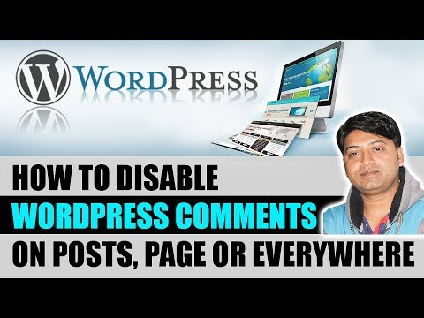 how to disable wordpress comments on posts, page or everywhere thumbnail