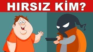 İpucunu Bul Ve Hırsızı Yakala! 2 Yeni Dedektif Sorusu
