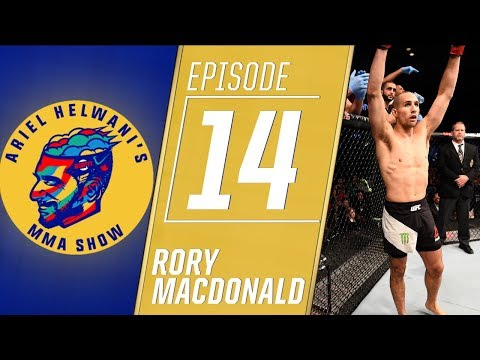 Rory MacDonald previews showdown with Gegard Mousasi | Ariel Helwani's MMA Show | ESPN