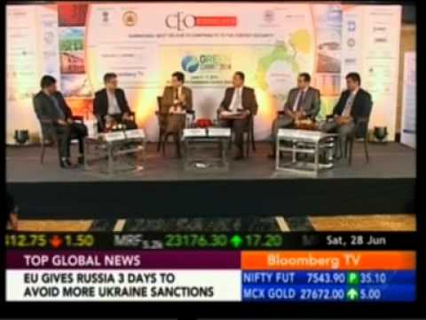 Dr. Arul, EVP Projects & CTO, Tata Power Solar, speaks on Bloomberg TV