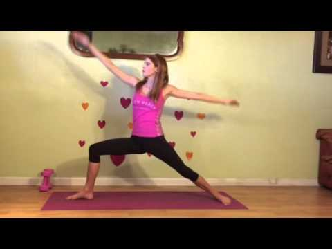 yoga move of the week warrior 1 2 and 3 and reverse