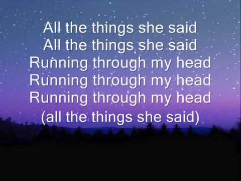 t.A.T.u. - All The Things She Said - YouTube