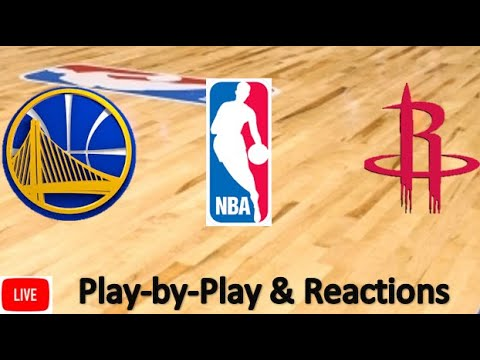 Golden State Warriors Vs. Houston Rockets Live Stream | Live Play-by-Play, Reaction | NBA | 11/6/19