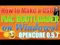 How to Create a Mac OS X Bootable USB Drive on Windows | Opencore