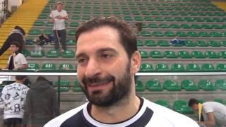 16-10-2016: #A2MVolley Umberto Gerosa post Materdomini-Cantù 1-3