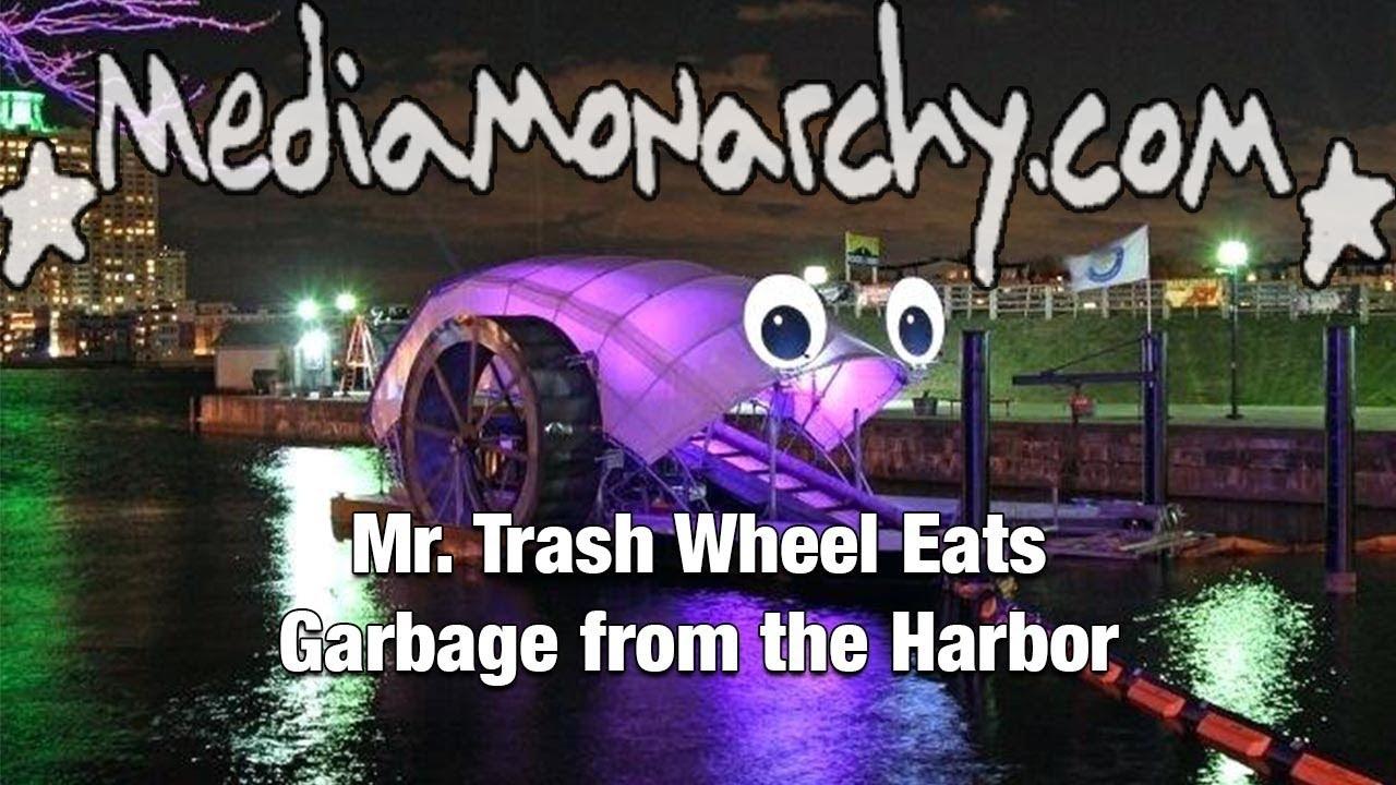 Mr. Trash Wheel Eats Garbage from the Harbor - #GoodNewsNextWeek