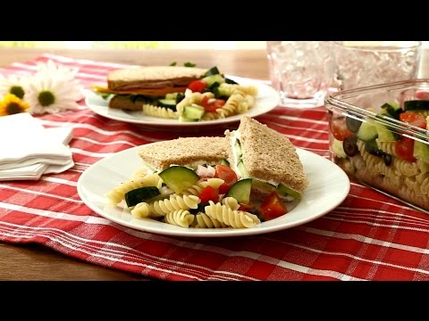 Pasta Recipes - Easy Cold Pasta Salad