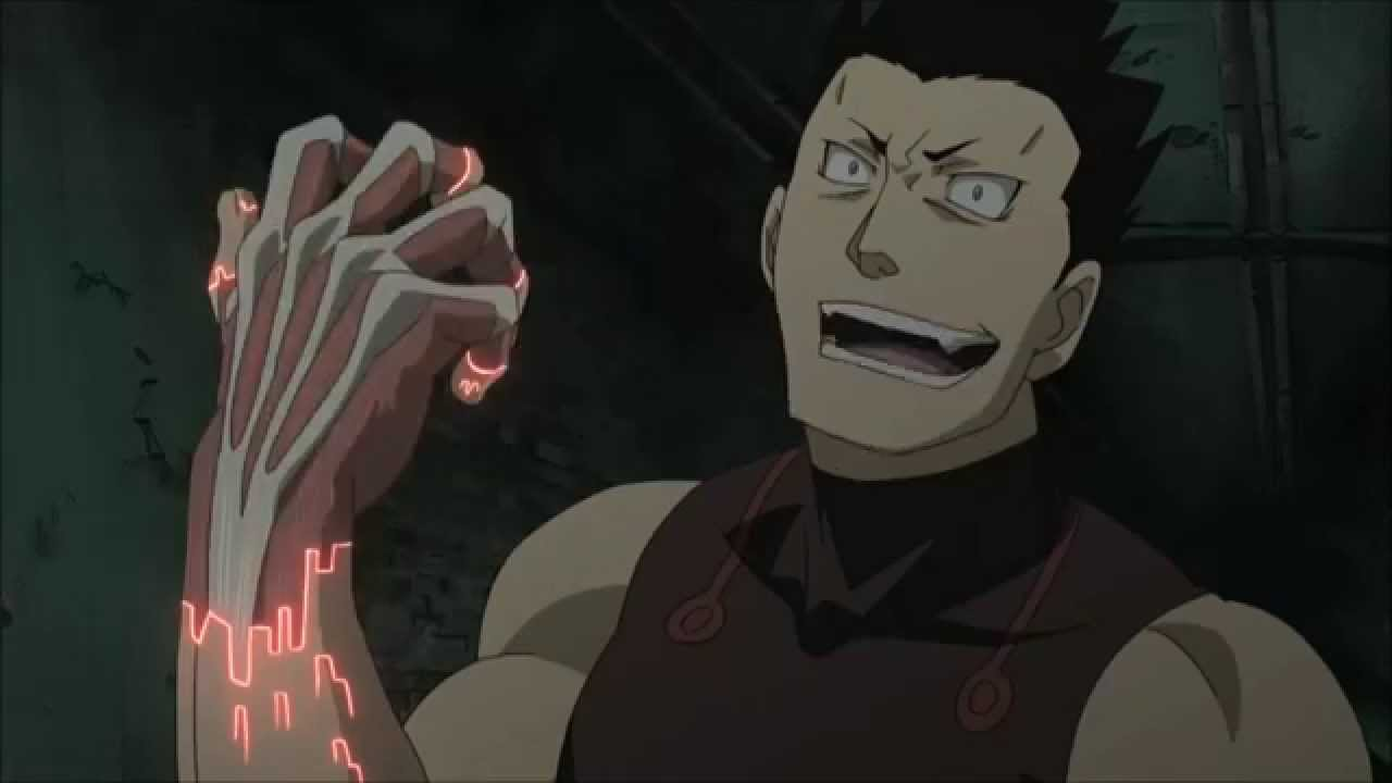 King Bradley vs Greed - Fullmetal Alchemist Brotherhood ...