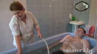 Санаторий Жемчужина - подводный душ-массаж, Санатории Беларуси