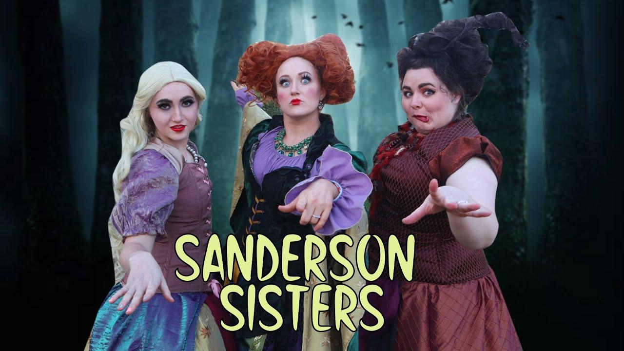 Sanderson Sisters Cosplay! Hocus Pocus Costumes!