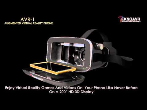 AVR-1 - Augmented and Virtual Reality Phone